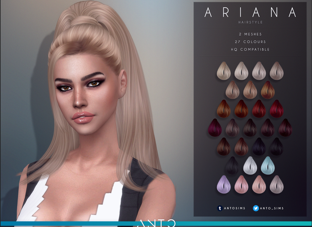Anto – Ariana Hairstyle