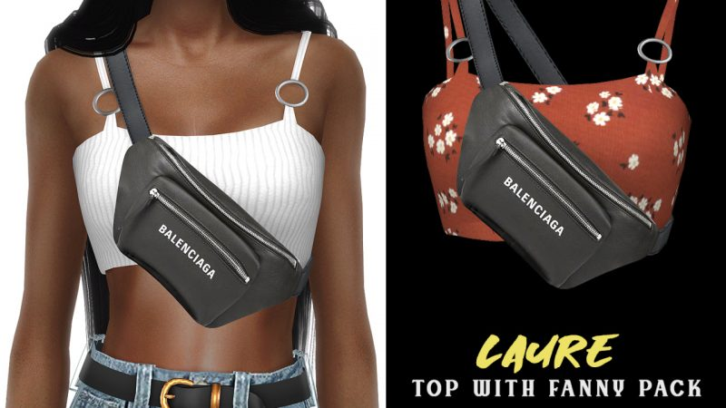Grafity-CC – Laure Top with Fanny Pack