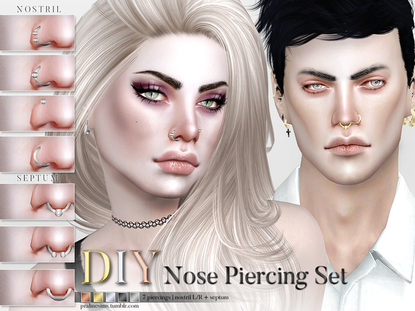 Pralinesims – DIY Nose Piercing Set