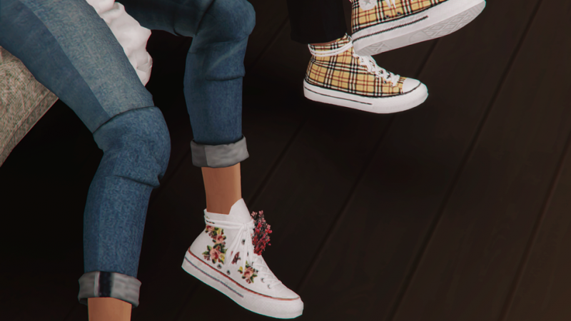 MMSIMS – Positive Sneakers & Flowers