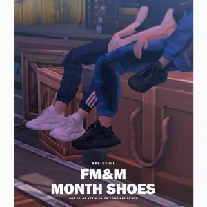 Iridescent – BED_TS4 FM&M month shoes
