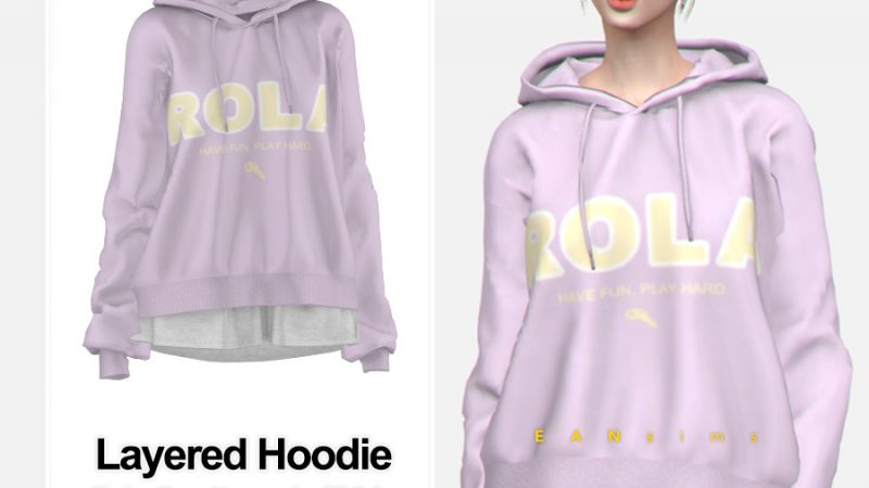 Eansims – TS4 Layered Hoodie