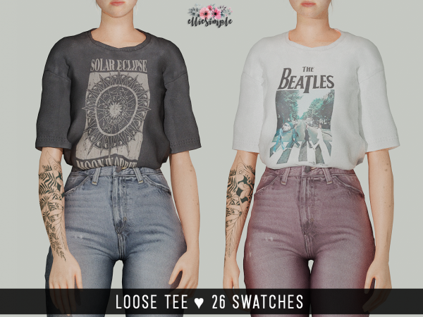 Elliesimple – Loose Tee